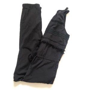 Ann Taylor Loft Black Jumpsuit Size Large